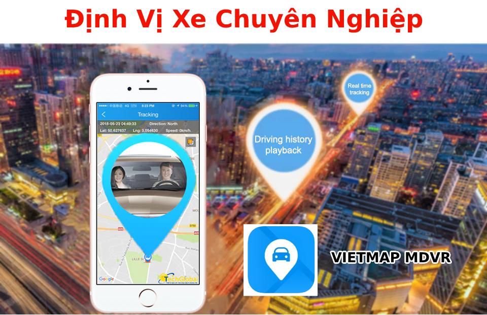 Giám sát hành trình chuyên nghiệp: Camera ô tô VM200 này cũng tích hợp GPS theo dõi chính xác vị trí xe; lộ trình xe và cả thời gian dừng đỗ của xe.