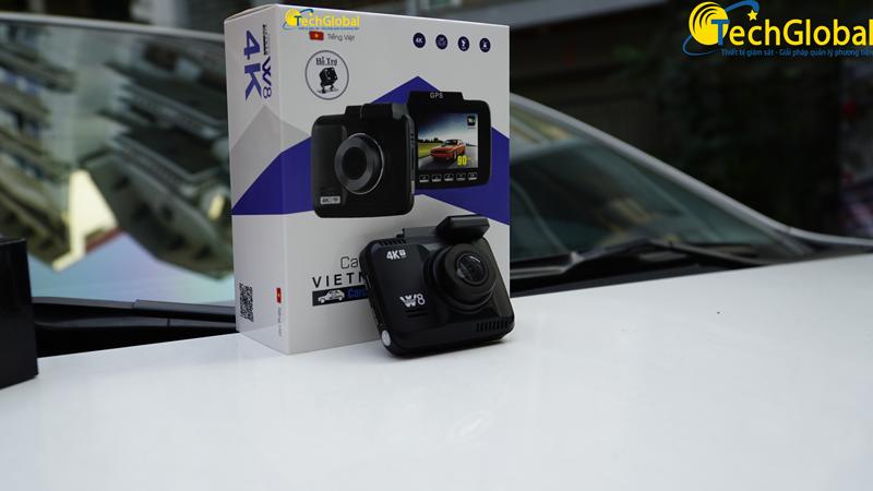 Camera hành trình W8 của TechGlobal cung cấp
