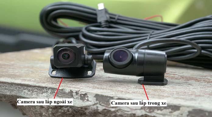 Camera sau Webvision A28 Ghi Hình Phía Sau Hỗ Trợ Lùi