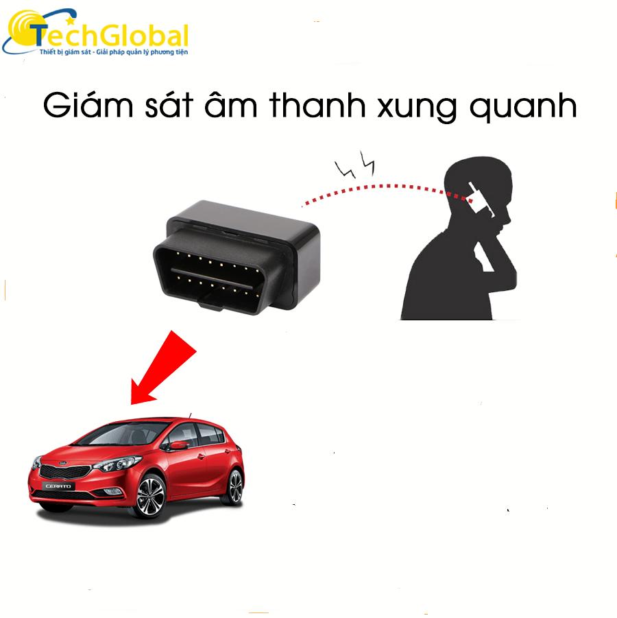Giám sát âm thanh trong xe ô tô dễ dàng