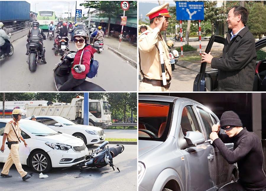 Rủi ro khi di chuyển ô tô trên đường là luôn luôn thường trực và bất ngờ