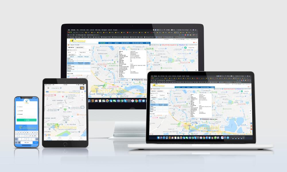 Thiết bị giám sát hành trình xe tải của TechGlobal giúp quản lý giám sát hành trình xe tải