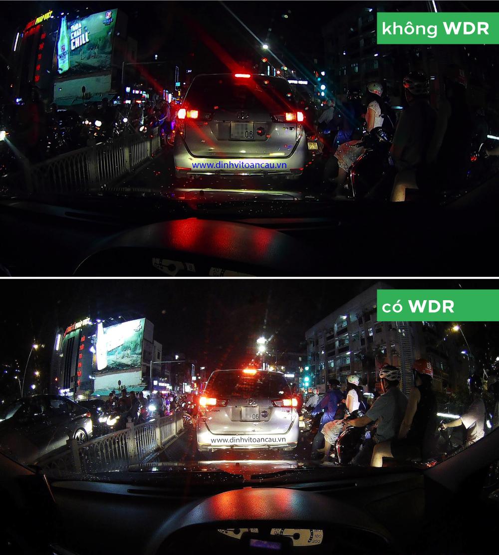 Camera hành trình ô tô C62 hỗ trợ ghi hình ngược sáng WDR