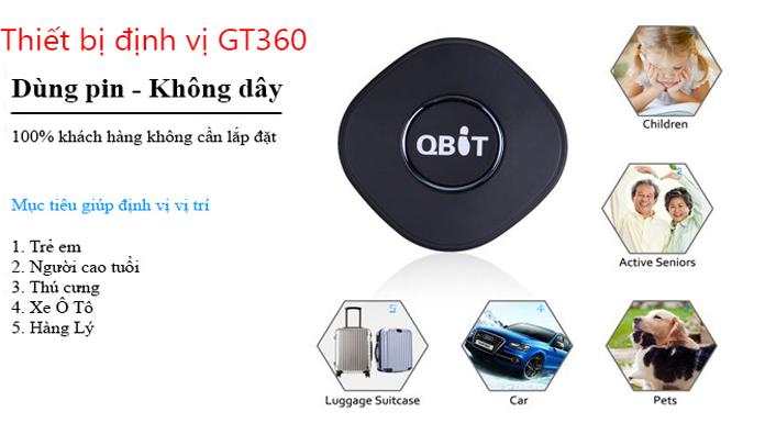 Thiết bị định vị GPS siêu nhỏ gọn không dây cầm tay của TechGlobal cung cấp