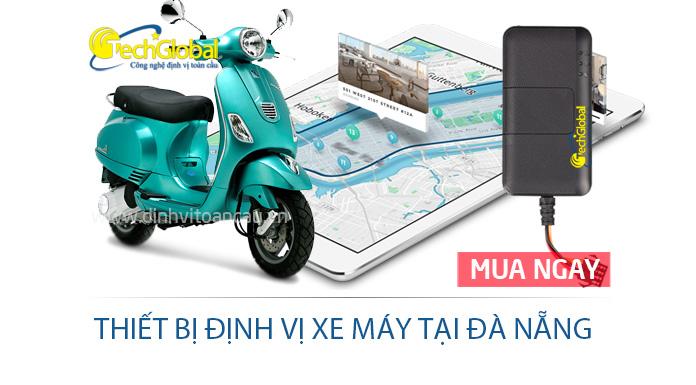 Thiết bị định vị xe máy tại Đà Nẵng hợp quy GSM - Giám sát và chống trộm xe hiệu quả