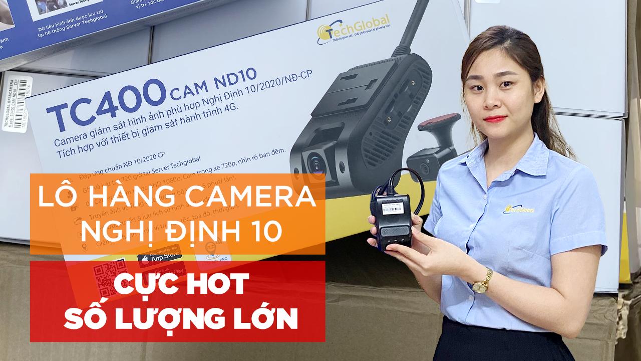 Phân phối Camera giám sát xe theo Nghị Định 10.2020.NĐ-CP
