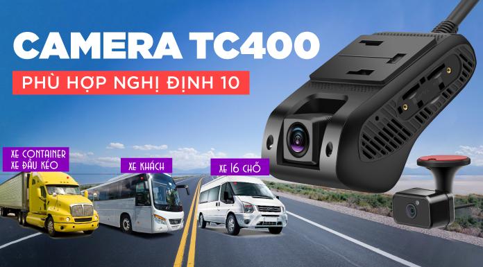 Camera Giám Sát Hành Trình Ô Tô Chuẩn Nghị Định 10 TC400 CAM-ND10