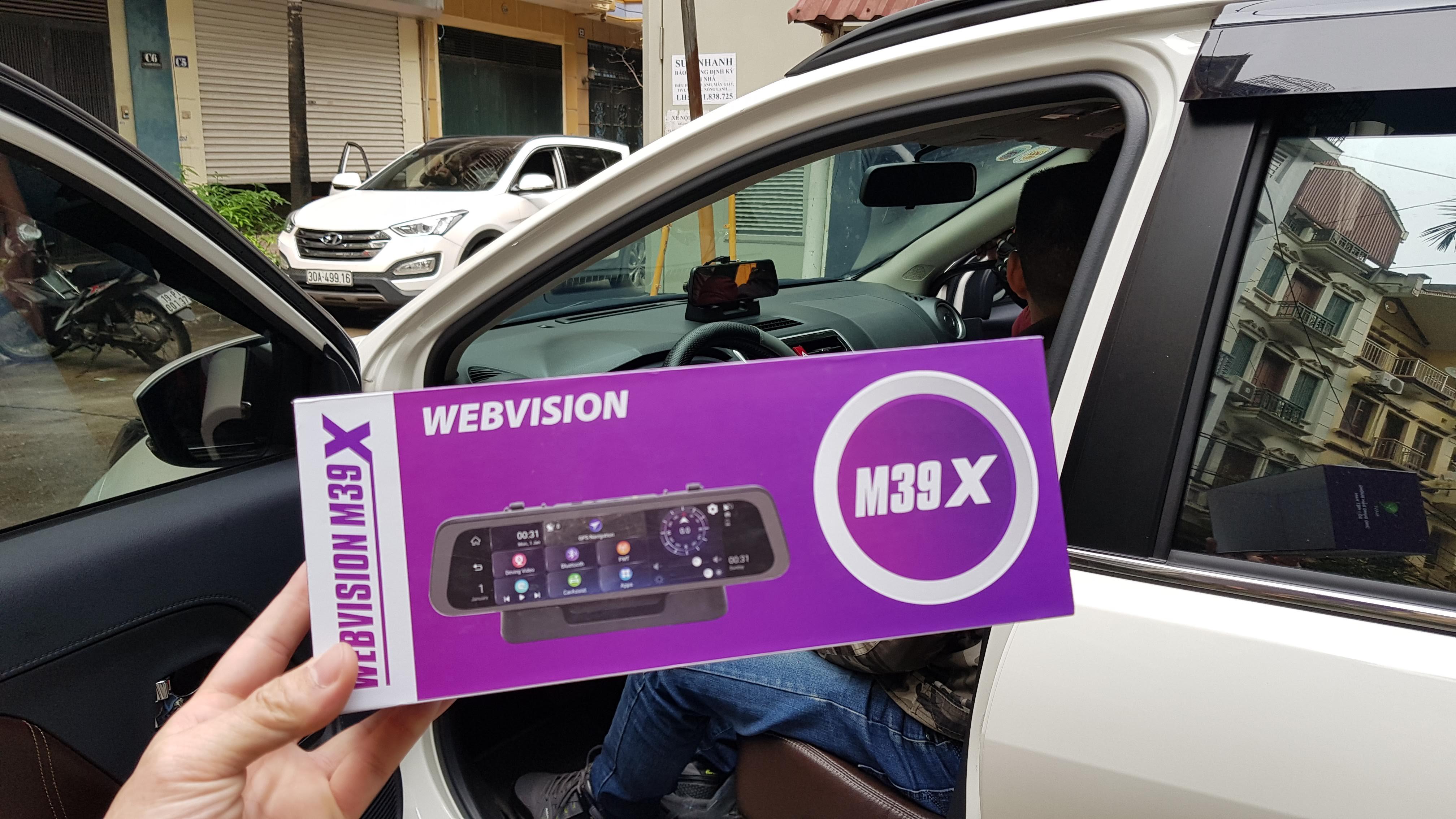 Camera Hành Trình Gương Cao Cấp Webvision M39X AI - Hộ Trợ Lái Xe An Toàn-118