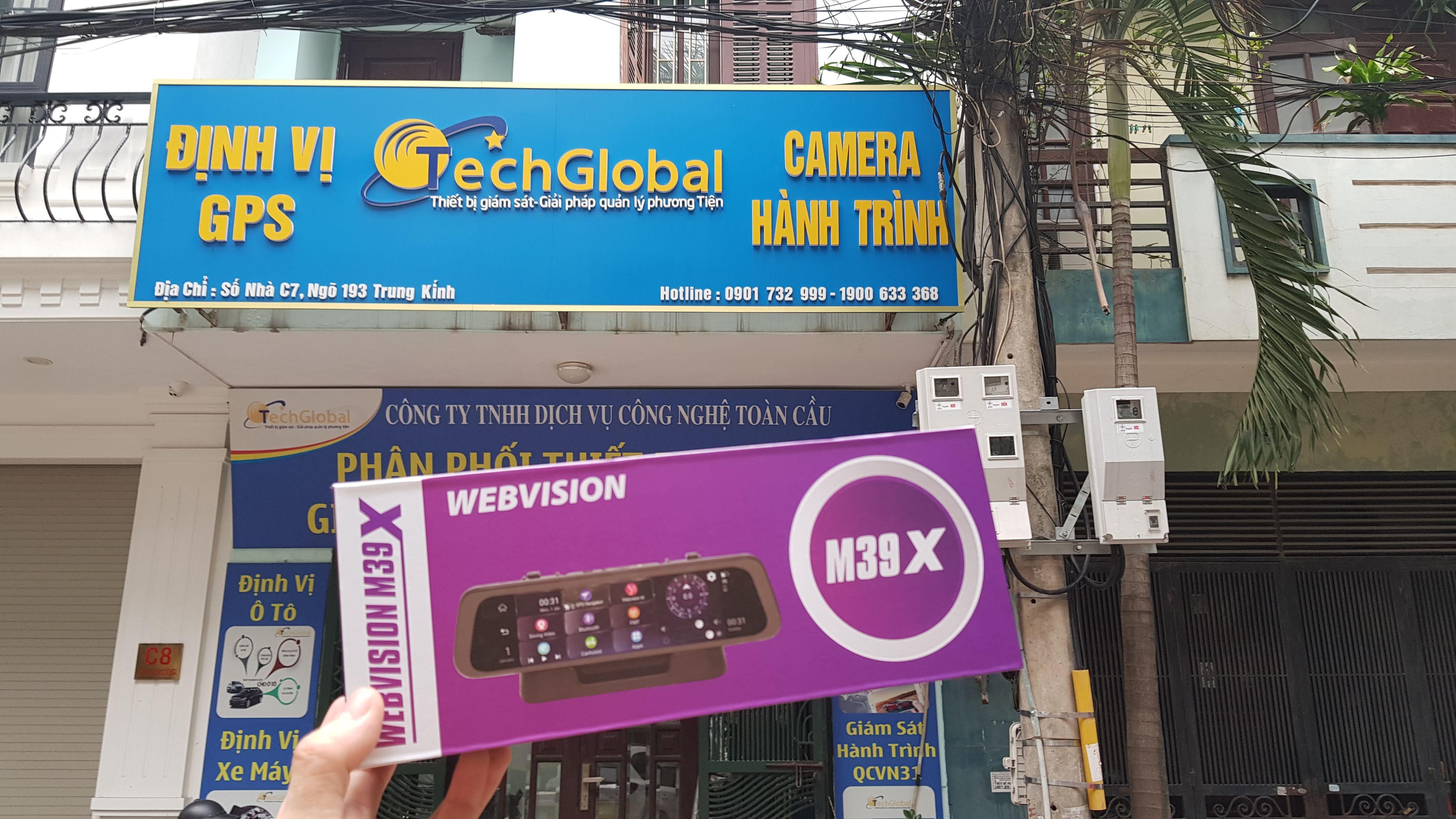 Camera Hành Trình Gương Cao Cấp Webvision M39X AI - Hộ Trợ Lái Xe An Toàn-115