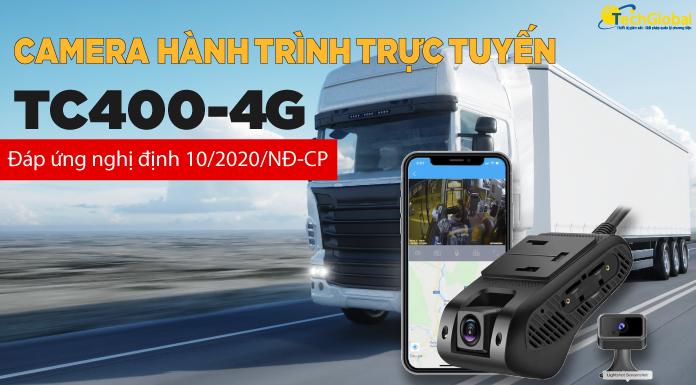 Camera Giám Sát Hành Trình Ô Tô Chuẩn Nghị Định 10 TC400 CAM-ND10-138