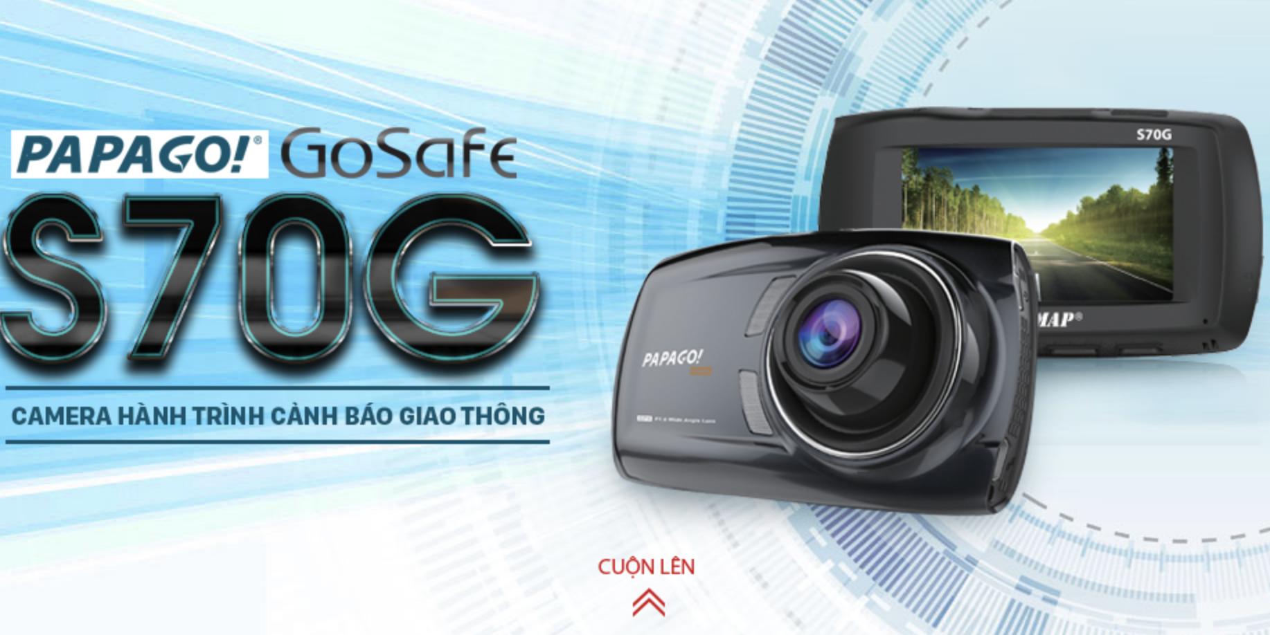 Camera hành trình Vietmap Gosafe S70G Cảm biến Sony - Cảnh báo giao thông giọng nói-99