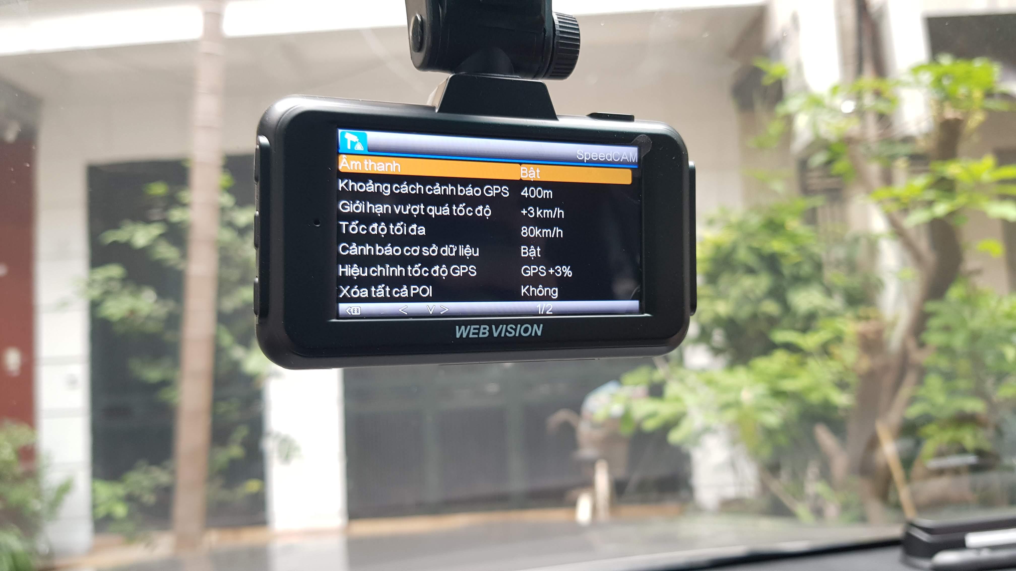 Camera Hành Trình Webvision A28 - Cảnh Báo Giao Thông - Ghi Hình 4K-112