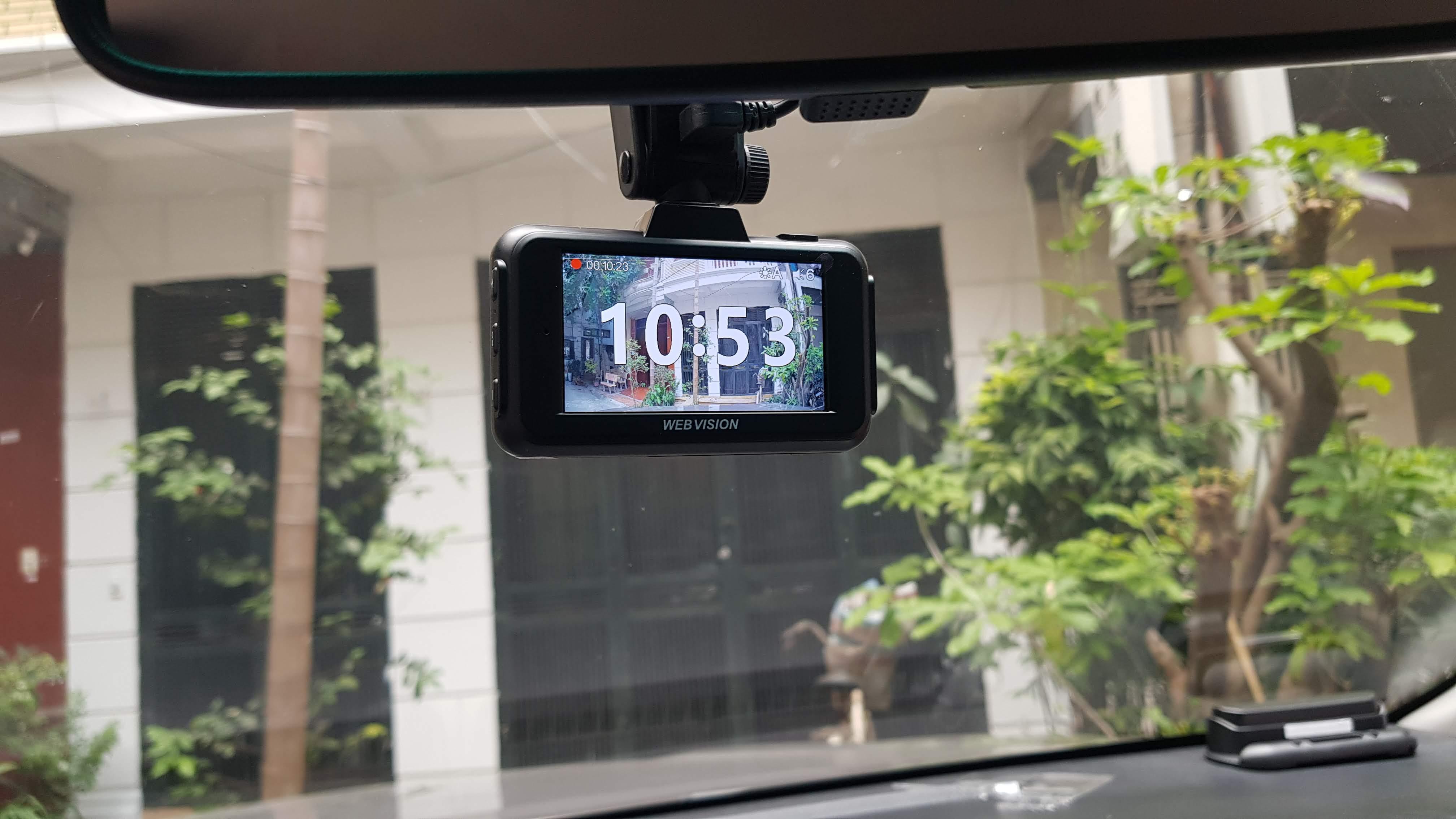 Camera Hành Trình Webvision A28 - Cảnh Báo Giao Thông - Ghi Hình 4K-113