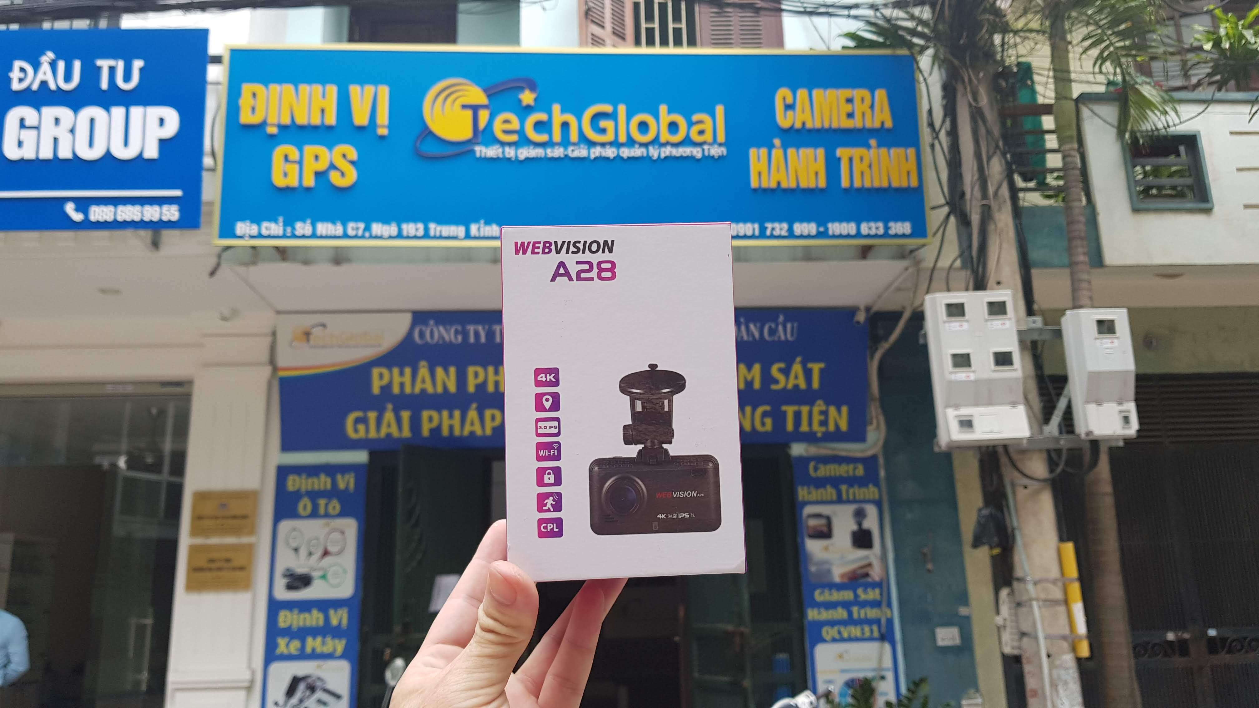 Camera sau Webvision A28 Ghi Hình Phía Sau Hỗ Trợ Lùi-119