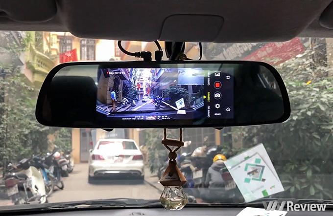 Camera Hành Trình Gương Webvision M39 AI Tích Hợp GPS - Wifi - Giám Sát Từ Xa -108
