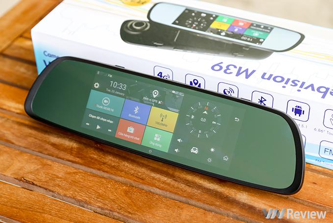 Camera Hành Trình Gương Webvision M39 AI Tích Hợp GPS - Wifi - Giám Sát Từ Xa -104