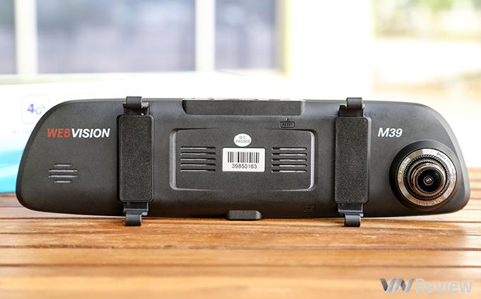 Camera Hành Trình Gương Webvision M39 AI Tích Hợp GPS - Wifi - Giám Sát Từ Xa -106
