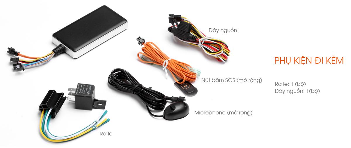 Thiết bị định vị xe máy PT06 hợp quy GSM Có nghe lén âm thanh-1