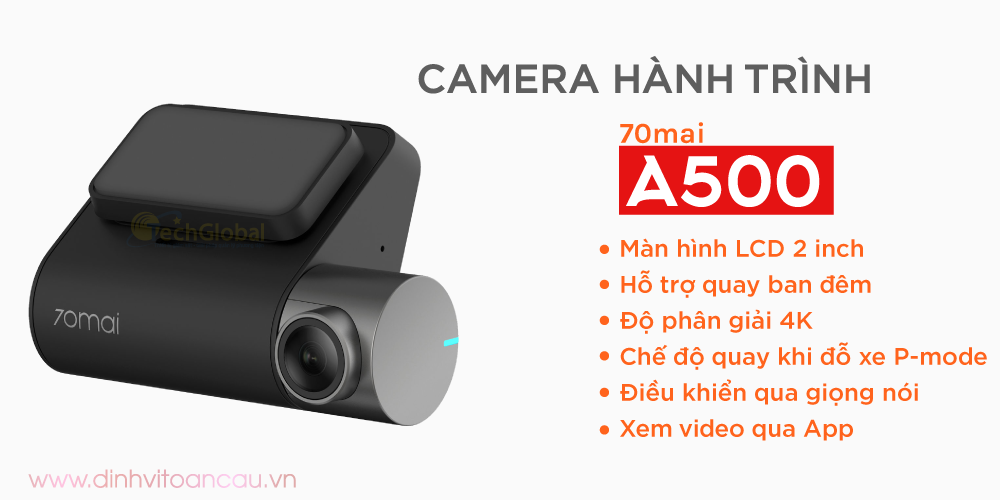Camera Hành Trình 70mai Pro Plus A500-131